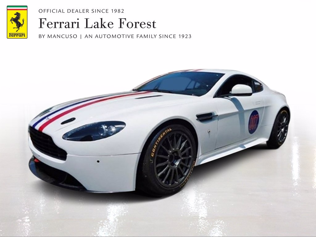 Pre Owned 2013 Aston Martin V8 Vantage Gt4 Grand Am Coupe In Lake