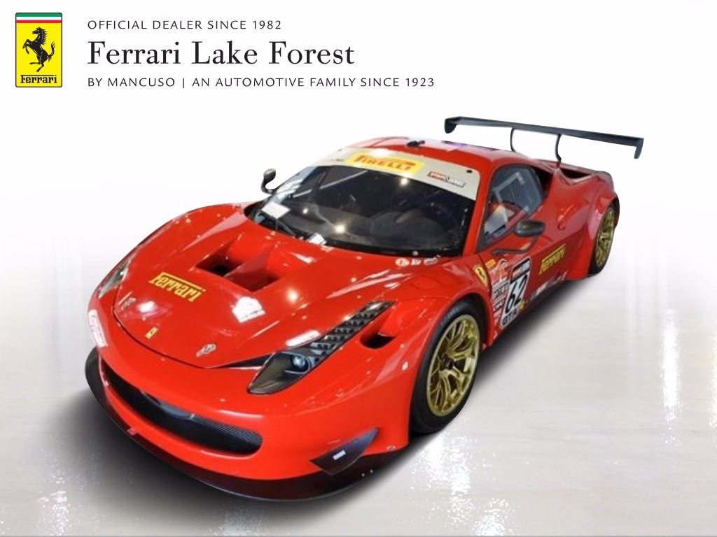 Pre,Owned 2014 Ferrari 458 GT3 RACECAR Coupe