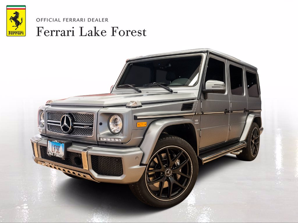Pre-Owned 2017 Mercedes-Benz G-Class AMG® G 65