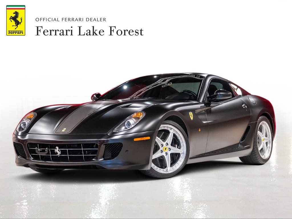 Certified Pre Owned 2010 Ferrari 599 Gtb Fiorano Rwd 2dr Car