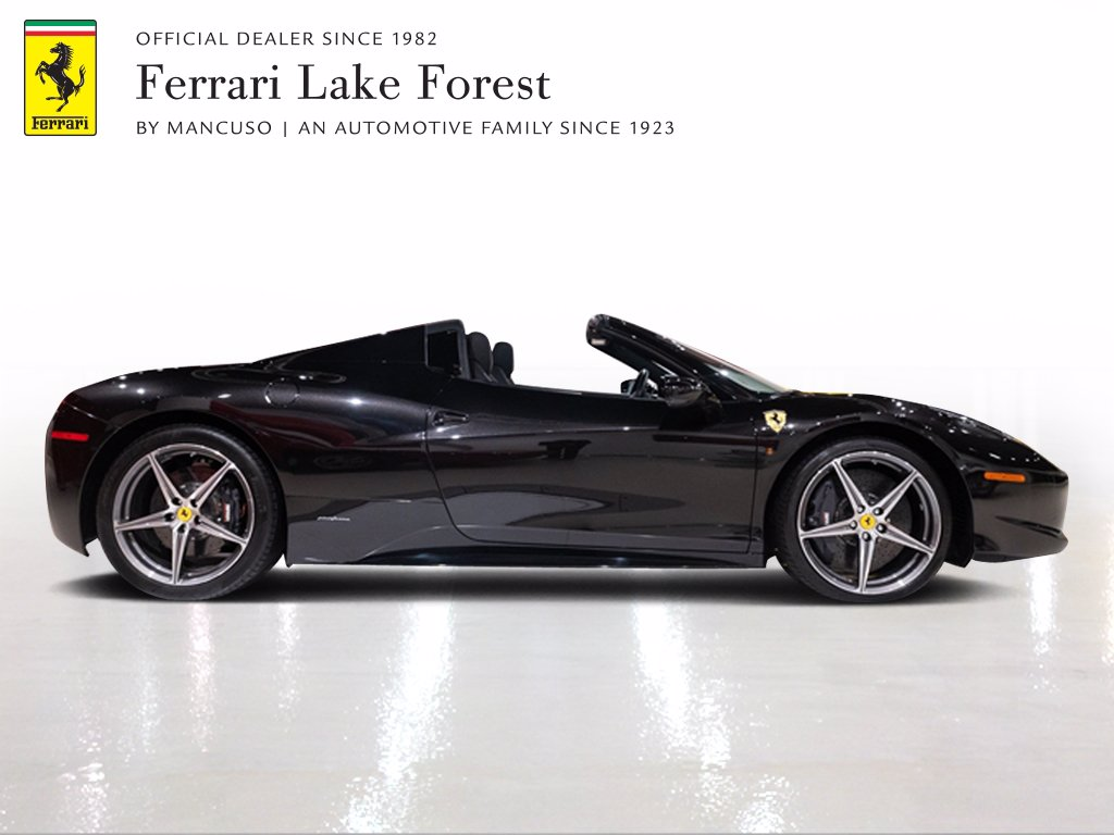 Certified Pre-Owned 2014 Ferrari 458 Spider