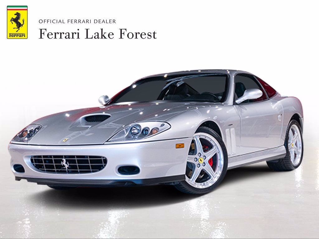 Pre-Owned 2004 Ferrari 575M Maranello 6 Speed Manual!