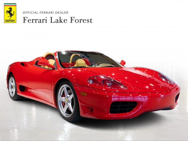 Pre-Owned 2004 Ferrari 360 Spider 6 Speed Manual! Spider